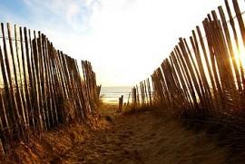 Grandes plages : 3 Km